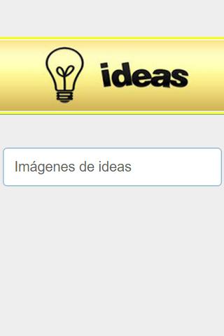 Imágenes de Ideas