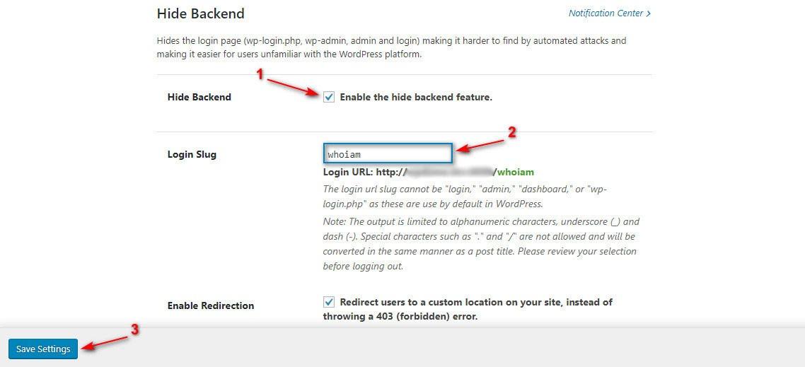 Thay đổi đường dẫn đăng nhập admin bằng plugin iThems Security