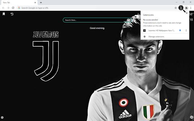 Juventus HD Wallpapers New Tab