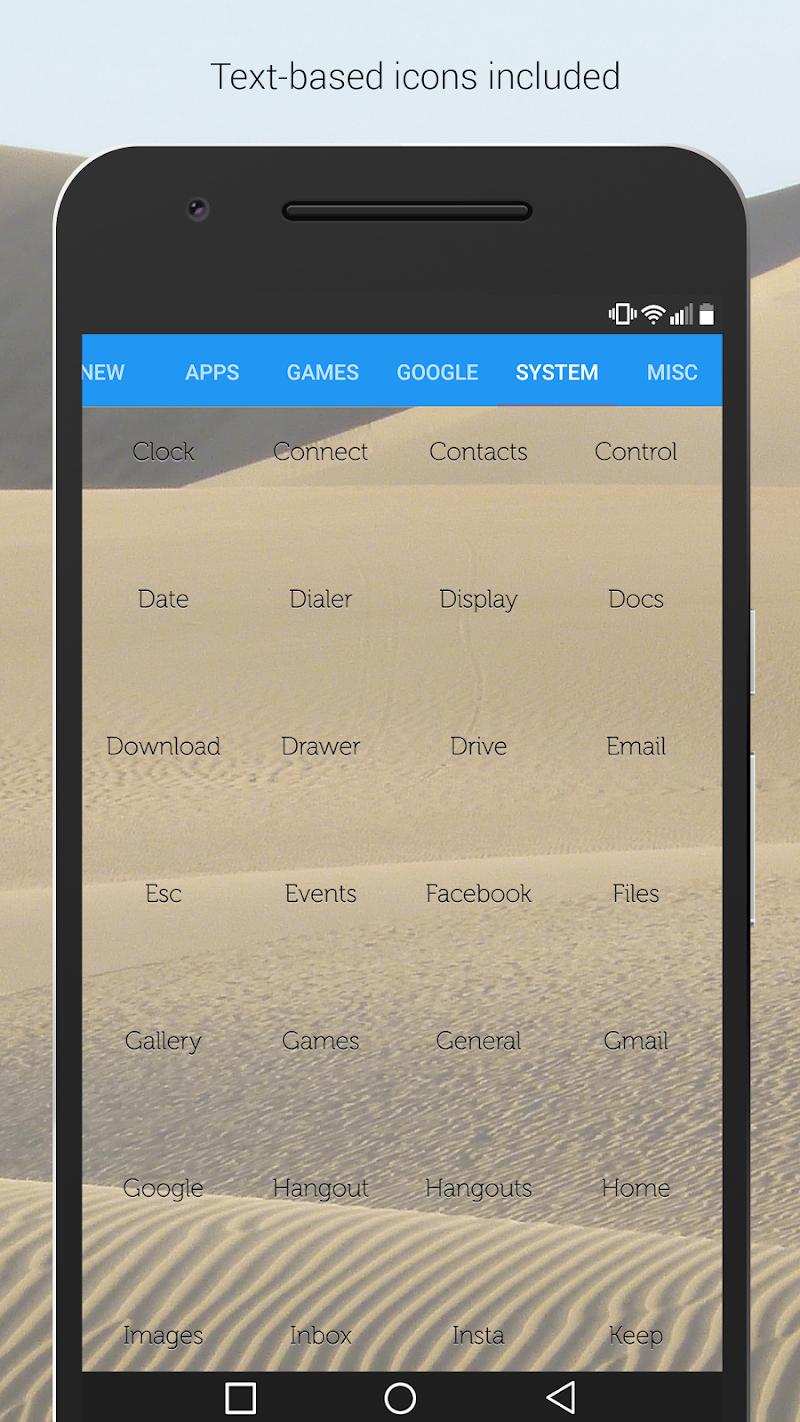 Lines Dark - Flat Black Icons (Pro Version) Screenshot 7