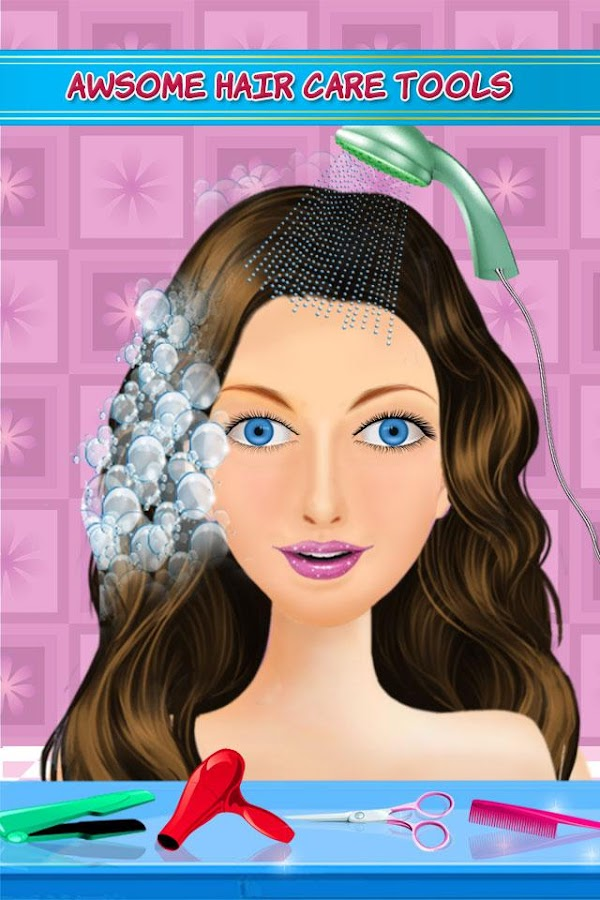 Hair Style Salon Girls Games Android Apps On Google Play