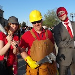 team fortress 2 at Anime North 2014 in Mississauga, Ontario, Canada