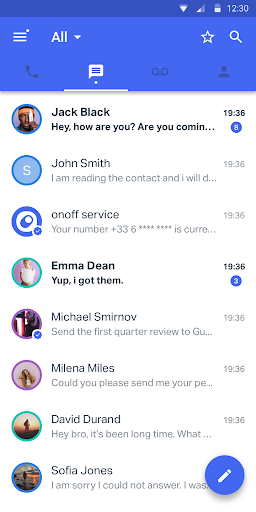 onoff screenshot