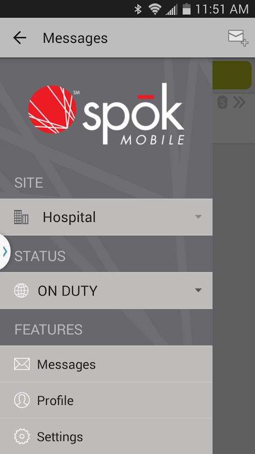 Spok Mobile- screenshot