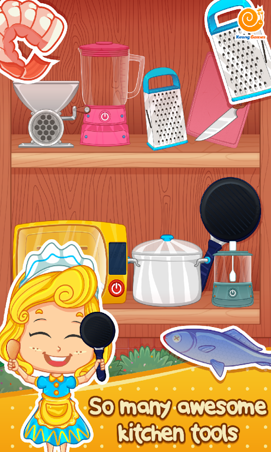Princess Kitchen Cooking Game Android Apps On Google Play
