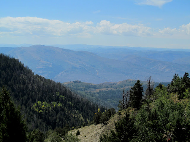 View from reservation ridge toward Ford Ridge