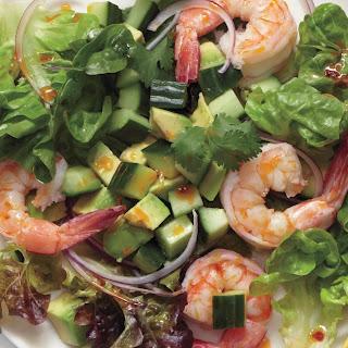 Southwestern Salad with Shrimp