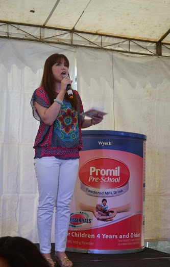 Promil Pre-school Imagine Nation event host Bernadette Allyson