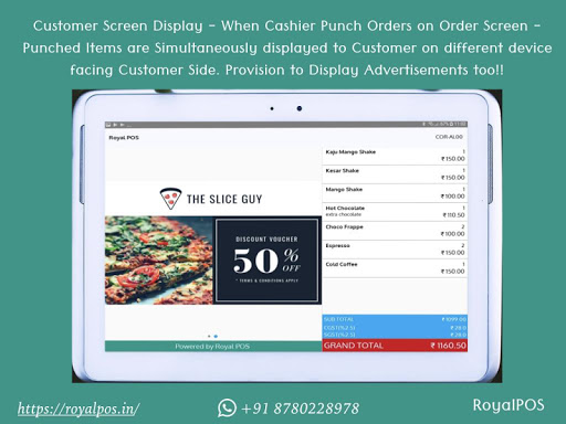 Royal POS Point of Sale for Restaurant & Retail 4.9.12 screenshots 2