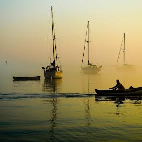 by Keri Zimmerman - Transportation Boats