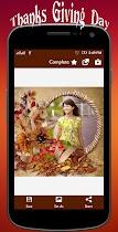 Thanksgiving profile pic Frame - screenshot thumbnail 06