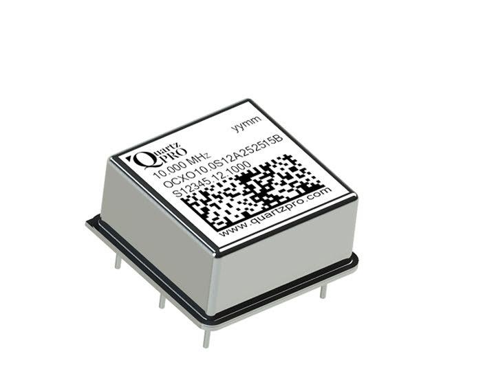 OCXO 10 MHz CMOS A 12 VOLT 25x25x13 mm B