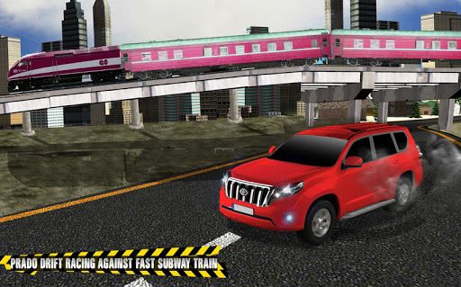 Train vs Prado Racing 3D  screenshots 9