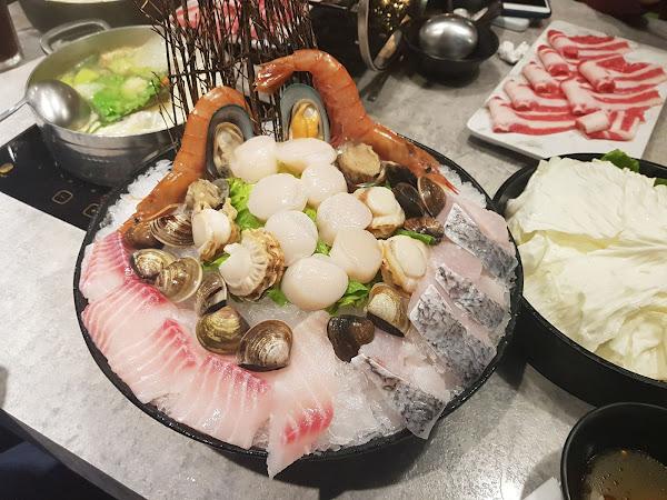台中西屯 Yü's宇良食。超狂海鮮拼盤,天使紅蝦還在動!!!