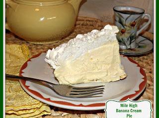 Mile High Banana Cream Pie Recipe