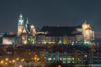 Photo: Nocny widoczek na Wawel ze Zakrzówka