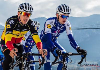 """Belg van Quick-Step focust na sleutelbeenbreuk op Giro: """"Wat een domme val, 'en danseuse' dan nog wel"""""""