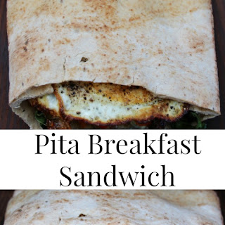 Pita Breakfast Sandwich