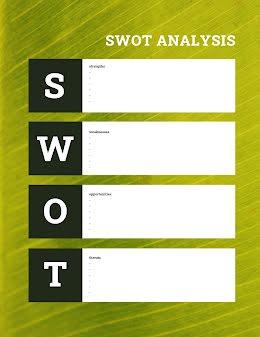 Lean SWOT - SWOT Analysis item