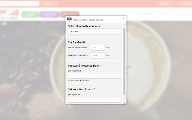 PERU CONNECT Screen Sharing