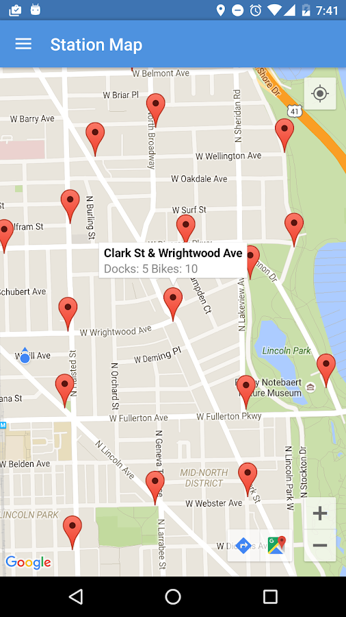 BikeShare - Find Chicago Bikes- screenshot