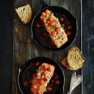 Baked Lemon Onion Salmon Recipes