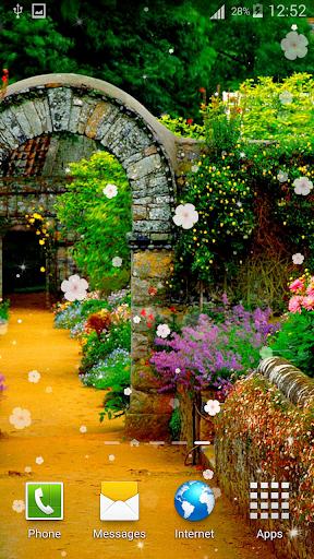 花園動態壁紙