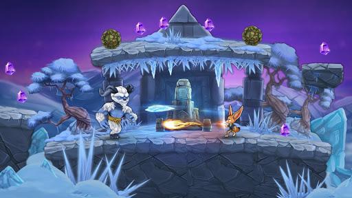Télécharger Finn & Ancient Mystery: Courez, sautez et avancez apk mod screenshots 3
