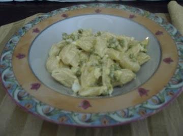 Macaroni Pea Salad Recipe