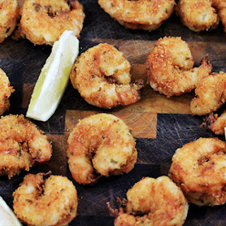 Lemony Buttermilk Fried Tiger Shrimp