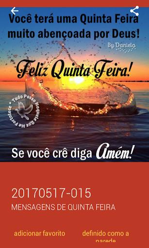 Mensagens de Quinta Feira 2.0.0.0 screenshots 5