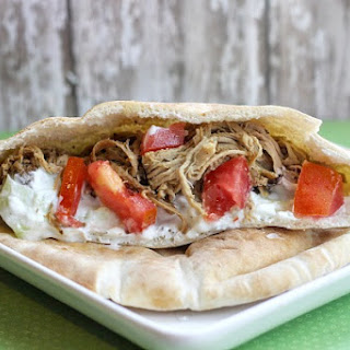 Crockpot Pulled Pork Gyros Recipe