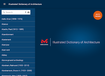 Dictionary of Architecture- screenshot thumbnail