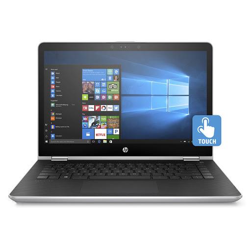 Máy tính xách tay/ Laptop HP Pavilion X360 14-ba128TU (3MR84PA) (Bạc)