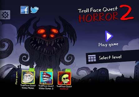 Troll Face Quest Horror 2: 🎃Halloween Special🎃 Screenshot