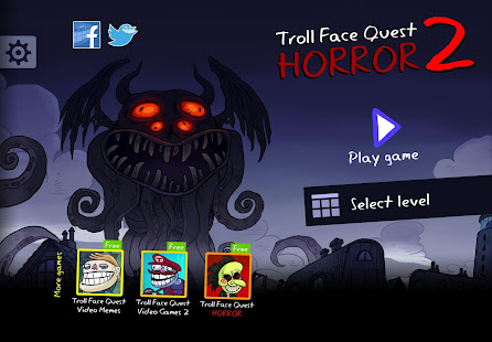 Troll Face Quest Horror 2: 🎃Halloween Special🎃 1