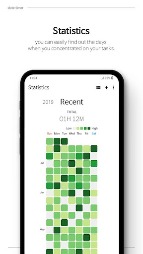 dote timer - Most efficient time management app screenshot 2