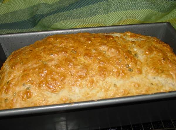 Pam's Asiago And Rosemary Beer Batter Bread
