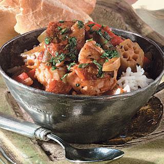 Shrimp-Andouille Creole