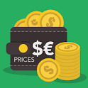 Currency converter & prices icon