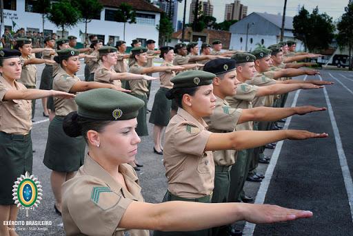Concurso do Exército - Mulheres Militares