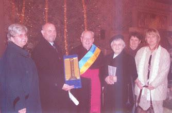 Photo: A pécsi Tüke díj átadása 2008 január 21-én