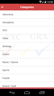 VSC Rating Board: Games Search- screenshot thumbnail