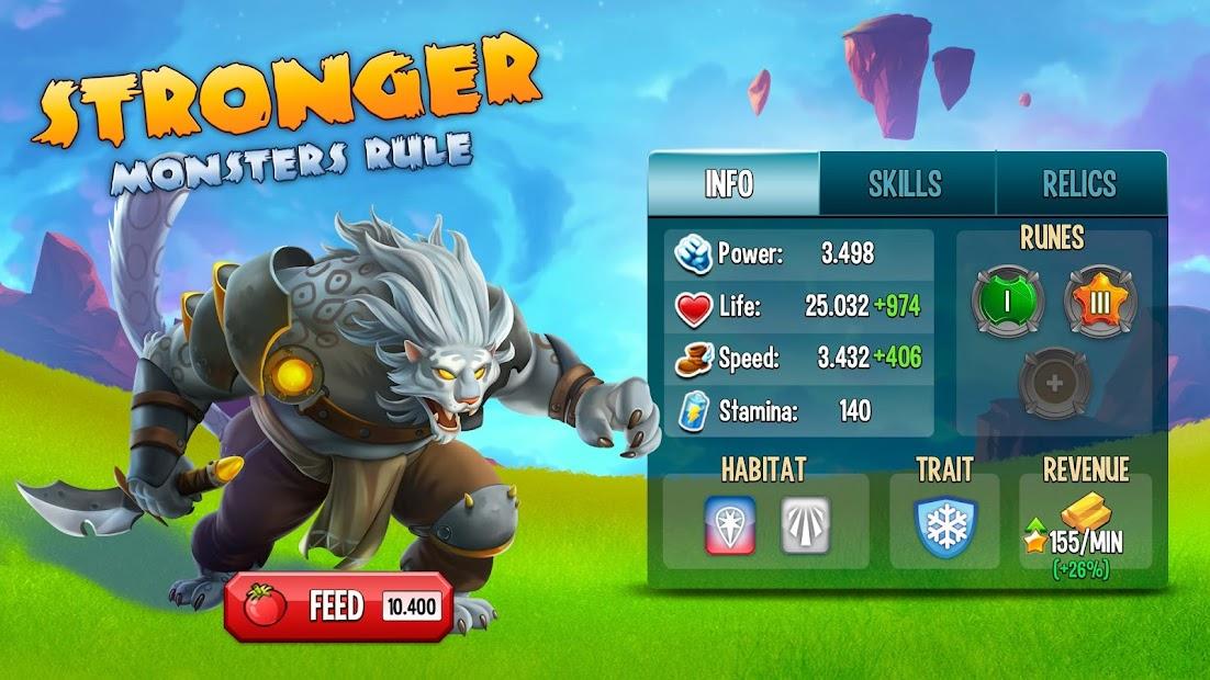 Monster Legends Android App Screenshot