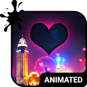 Night Love Animated Keyboard