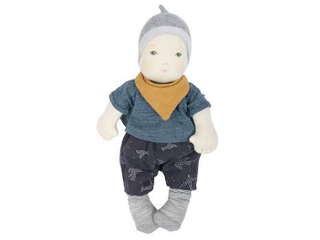 Docka 'Les Bébés' grå