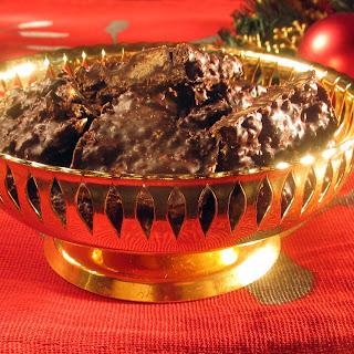 Chocolate with Gingerbread Crumble