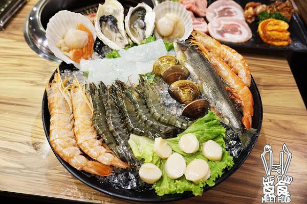 九斤二日式無煙燒肉 南京三民美食 20年老店新裝燒烤 食材新鮮 待客用心