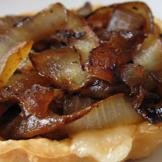 Swiss and Caramelized Onion Tarts