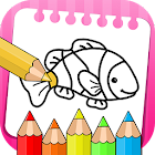 Fish Drawing Book for Kids icon